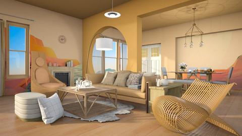 Sofia - Living room  - by caitlincayce