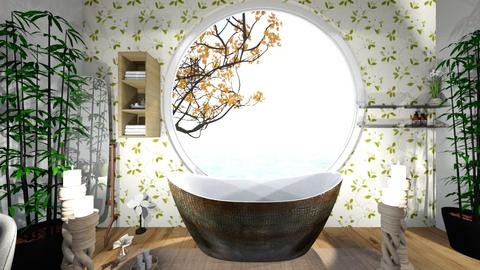 lilly pad bathroom  - by veronicapool