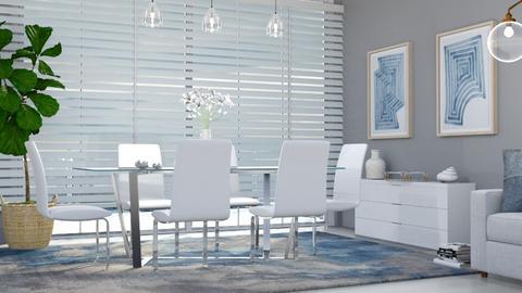M_ MD - Modern - Dining room  - by milyca8