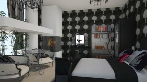 Nigth - Vintage - Bedroom  - by Zaireth Araziel