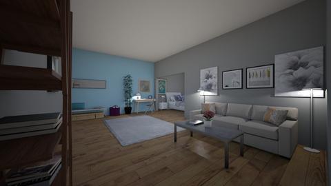 Student room - Living room - by brookwilliam