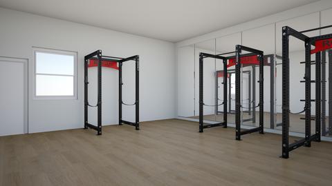 basement gym - by rogue_7a156f2e6ad62990b629fd97d230e