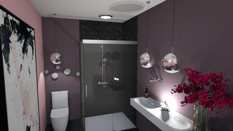 cherry blossom bathroom  - Bathroom  - by NalaMateo30