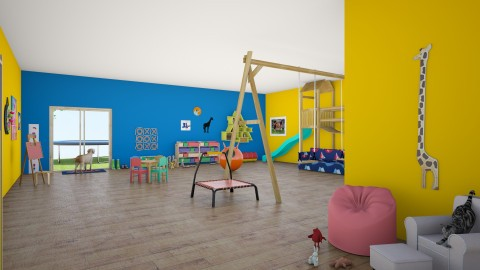 playroom - Kids room - by theresarosebaldwin