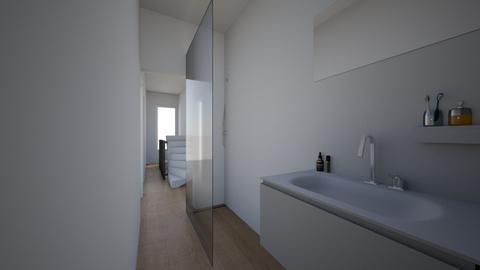 badkamer 2de - Bathroom  - by dupontlouise