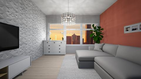 W - Modern - Living room - by Twerka