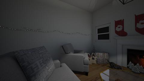 Winter Wonderland - Living room  - by queen c