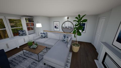 No TV Living Room - Living room  - by madzybo