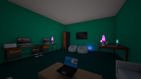 dylans game room - Modern - Office - by sliderbily