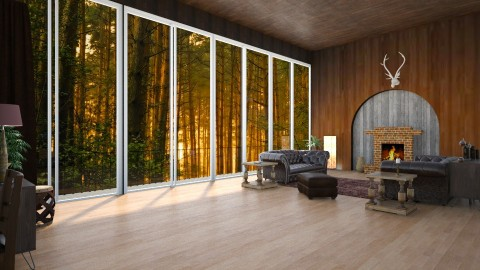 Forest Home - Classic - Living room  - by Yana_Arsenyuk