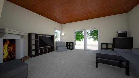 hir_u_nappali_jarolap - Living room  - by doralocsi