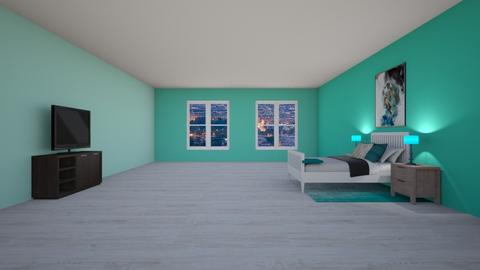 Stormy day Bedroom remix - Modern - Bedroom  - by DomondG