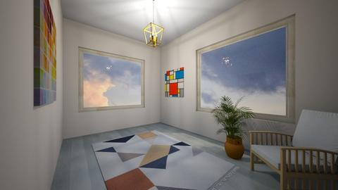yoga room - Modern - by ceendy