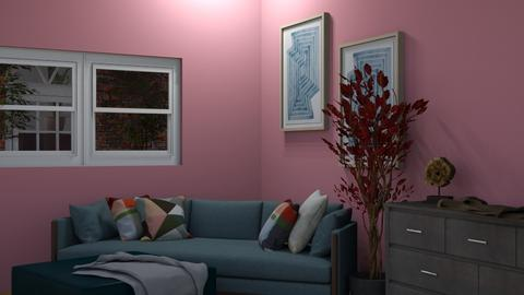 random room 2 - Rustic - Living room  - by Adrianna1010