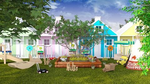 Outdoor Daycare - Garden  - by GraceKathryn