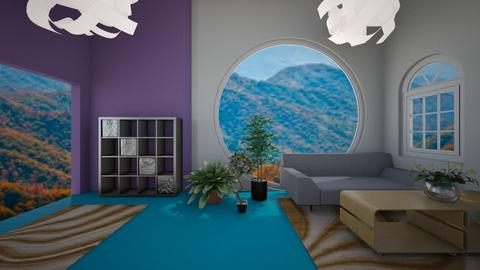 MODERN LIVING 1 - Living room  - by Anna Weyer