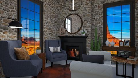 ny - Living room  - by ok sosa