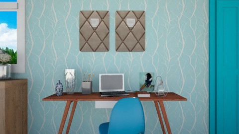 Working space - Office - by Rose Marie
