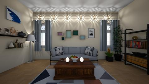 Colorful Living - Living room  - by Puppylover5673
