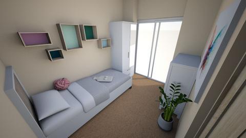 Tiny Room - Minimal - Bedroom - by hz00060