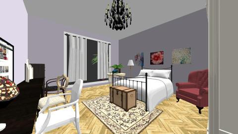 my room - Vintage - Bedroom  - by kimha
