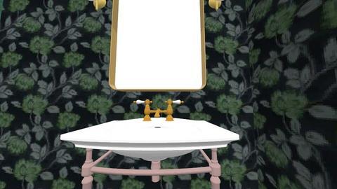 powder bath - Bathroom - by jrussell02