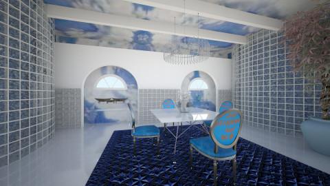 UbLu - Vintage - Dining room  - by Saj Trinaest
