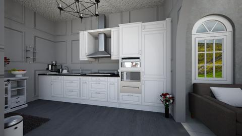 Gloom and Bloom View 7 - Modern - Kitchen  - by Avril55