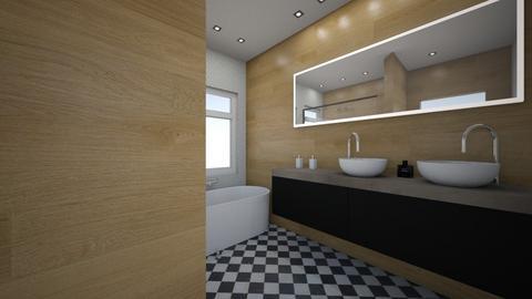 Gustavo - Minimal - Bathroom  - by Gustavo Restrepo