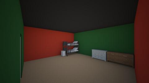 Warren and Rylan Flint - Bedroom - by RitchieValens640