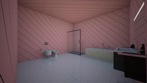banheiro - Rustic - Bathroom  - by laralivia2101