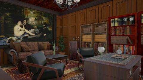 Salvatore office - Office  - by Debora Cris
