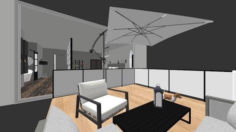 habitacion negro - Modern - Bedroom  - by luccia12