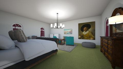 Ma chambre Annika - Eclectic - Bedroom  - by annikagrohp