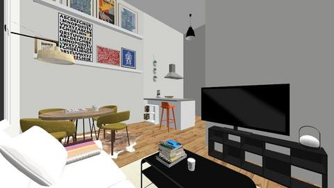 living room design 2  - Living room  - by charlotte5353