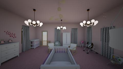 Chloe nursery  - Glamour - Kids room  - by Teacher Tita