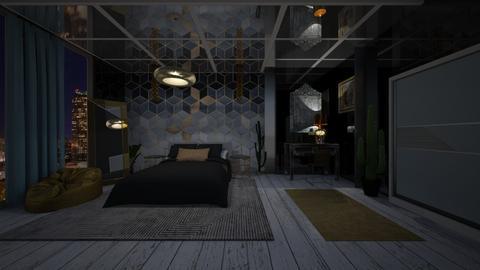 Golden Mood - Modern - Bedroom - by Rubella