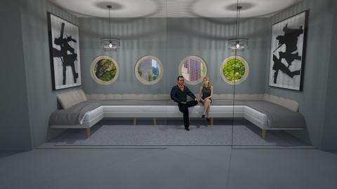 Grey - Modern - Living room - by designcat31