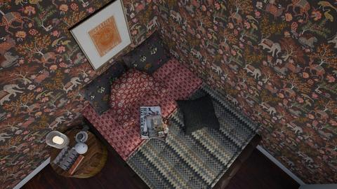 Indian Inspired Bedroom - by Valentinapenta
