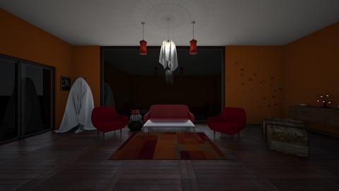 Halloween design - Living room  - by 29catsRcool