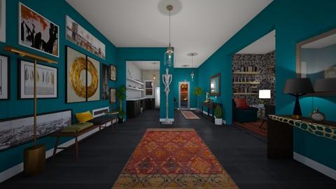 Maximalist Hallway  - by kasturgill