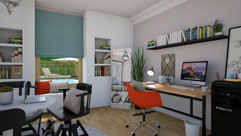 Playful Home Office - by luiza cruz
