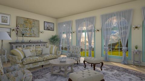 Blurry - Living room  - by petersohn