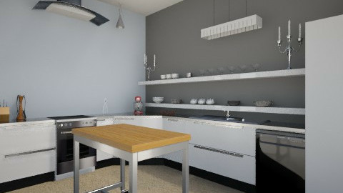 Kitchen Remodel - Minimal - Kitchen  - by Lorna20111