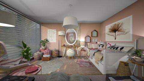 Ballerina - Feminine - Bedroom  - by camilla_saurus