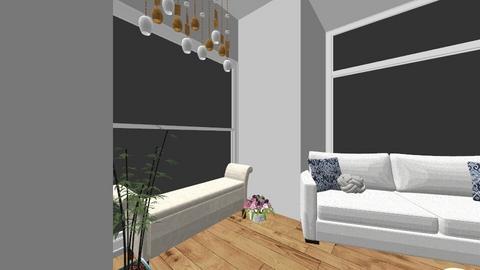 urban jungle living room - by ERINKATHMANN