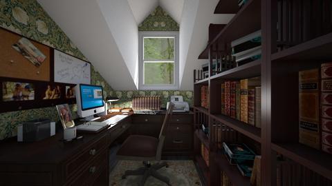 Attic Office - Office  - by SammyJPili