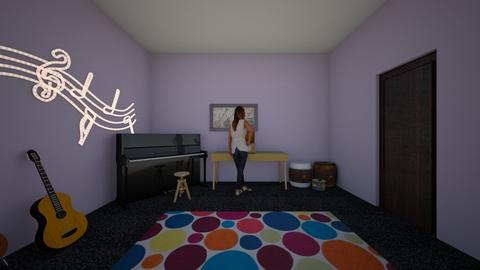 Music Room - by llama_555