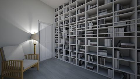 books in your interior  - by Miriam09