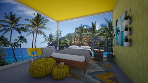 Summer - Bedroom  - by Chrispow0105